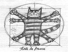 кот Да Винчи