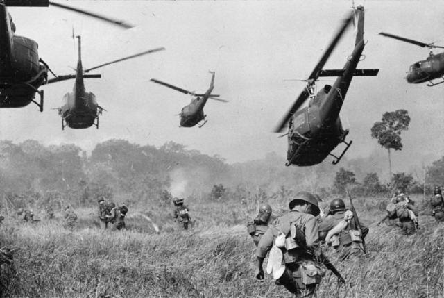 Война во Вьетнаме.