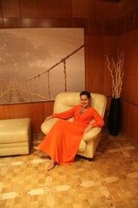 Ирина Соловьева в кабинете